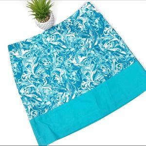 MICHAEL Michael Kors Turquoise Mini Skirt Size 8